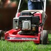 Want to relieve some stress? Try mowing your lawn.
