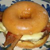 Krispy Kreme burger now available for purposeful clogging of arteries.