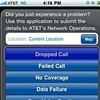 AT&T releases iPhone app so users can complain about poor service.