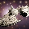 Man finishes LEGO Star Wars space ship from scratch after just two years.