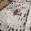 Have a peek at the world's largest labyrinth recently constructed over in Buffalo, New York.