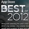 Apple selects the Best of 2012 awards from notable iTunes Store apps and games.